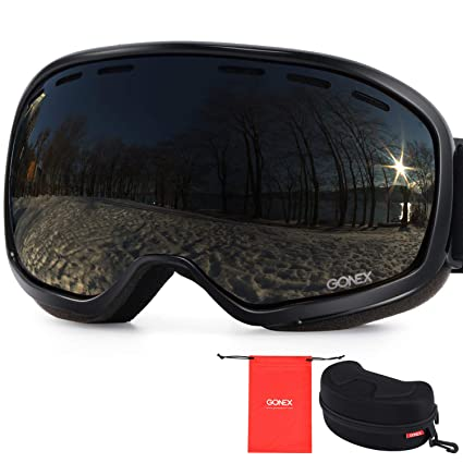 265b6c4229ef Image Unavailable. Image not available for. Color  Gonex Ski Goggles ...