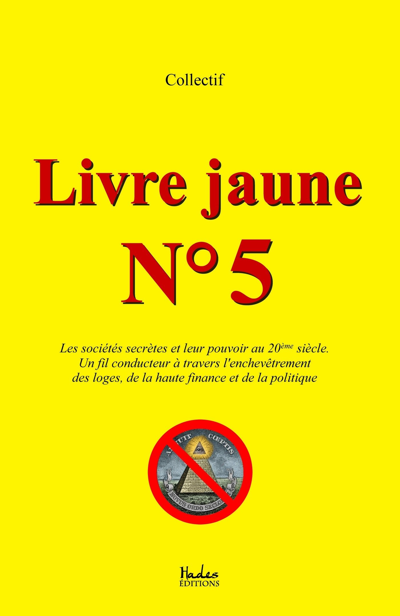 Livre Jaune N 5 French Edition Collectif 9791092128666