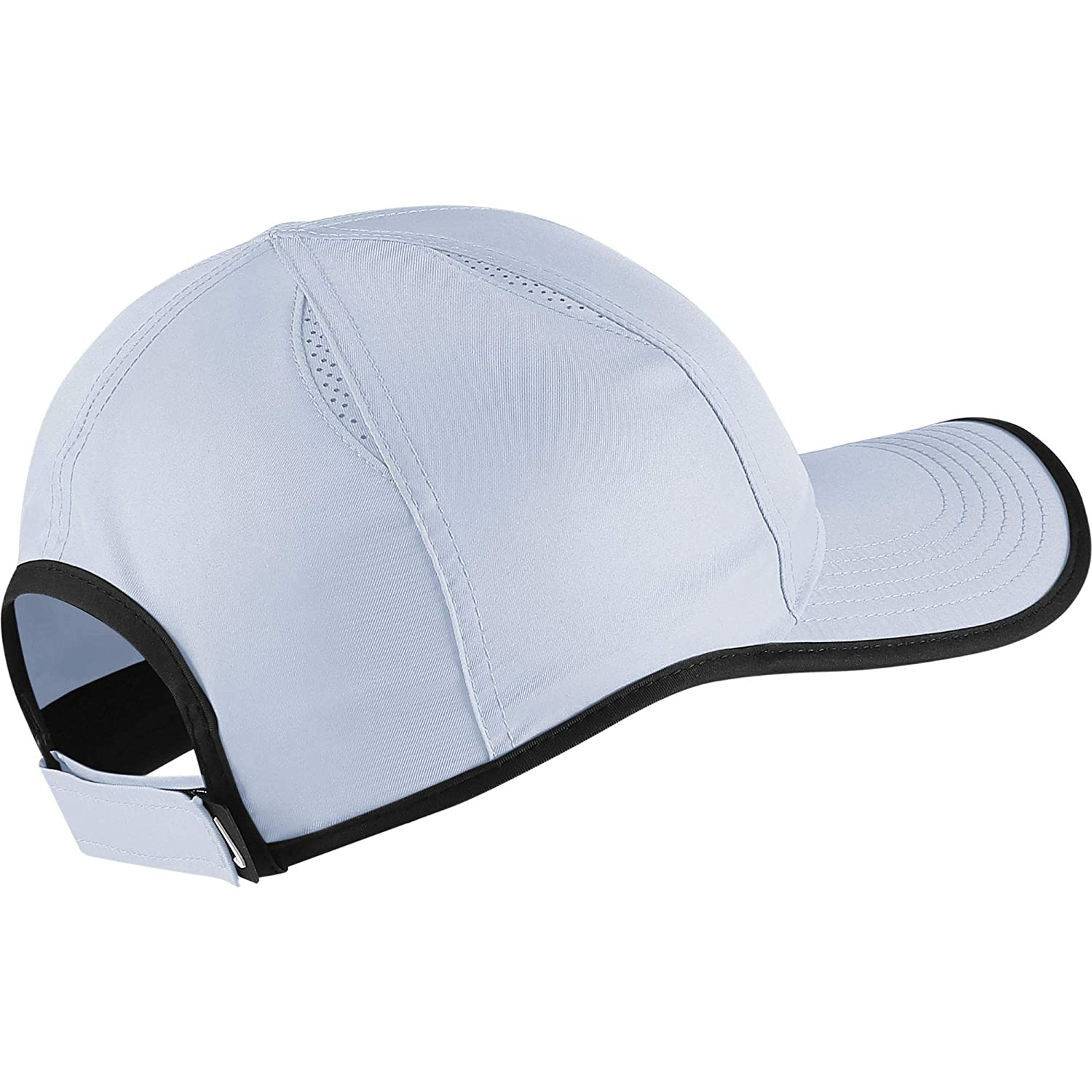 promo code ca92b a88cf Nike Men s Court Featherlight Tennis Cap, Half Blue Black, One size   Amazon.co.uk  Sports   Outdoors