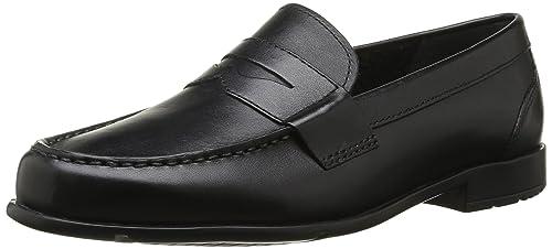Rockport Men's Classic Lite Penny Loafers, Black (Black) - 8.5 UK