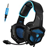 Amazon Price History for:SADES SA807 Gaming headset Multi-Platform PlayStation 4 New XboxOne Stereo Headset Over-Ear Gaming Headphones with Microphone for PC PS4 iPad Mobile Tablet Mac (BlackBlue)