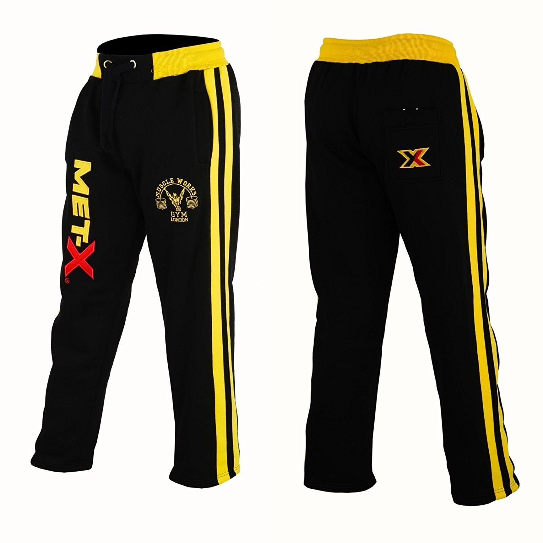Muscle Works Gym Met-X - Pantalón de Forro Polar para Hombre, para ...