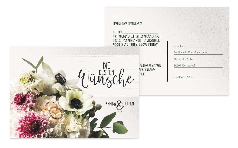 Ballonkarte Bouquet, 80 Karten, Rosa Rosa Rosa B07CQDL6L7 | Bevorzugtes Material  | Praktisch Und Wirtschaftlich  | Auf Verkauf  8b87a7