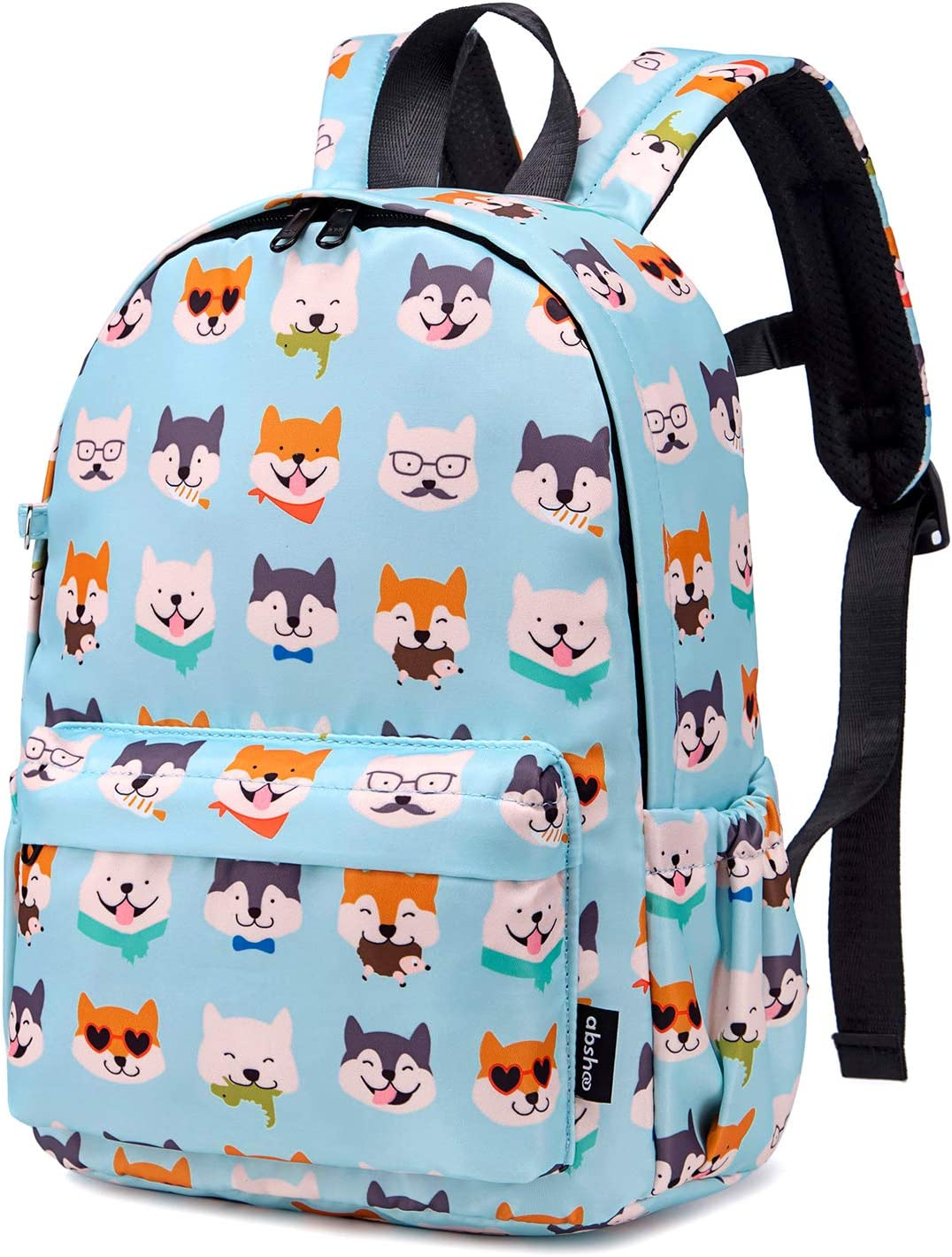 Husky Dog Teal Abshoo Little Kids Toddler Backpacks for Preschool Backpack With Chest Strap