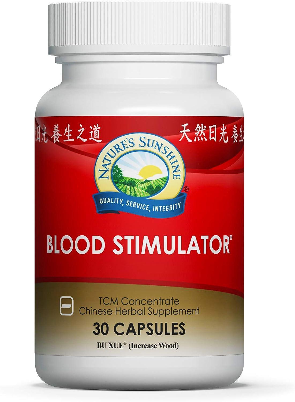 Nature's Sunshine Blood Stimulator TCM Concentrate 30 Capsules