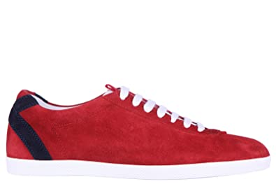 1310561a823 Gucci Men s Shoes Suede Trainers Sneakers Softy tek red UK Size 10 407352  CFYB0 6464