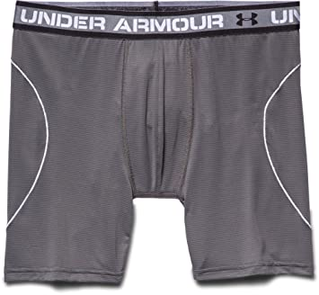 Under Armour ISO Chill 6 Boxerjock - Boxers para Hombre, Color Gris Grafito