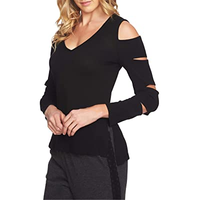 1.State Women's Cold Shoulder Slash Sleeve Top at Amazon Women's Clothing store