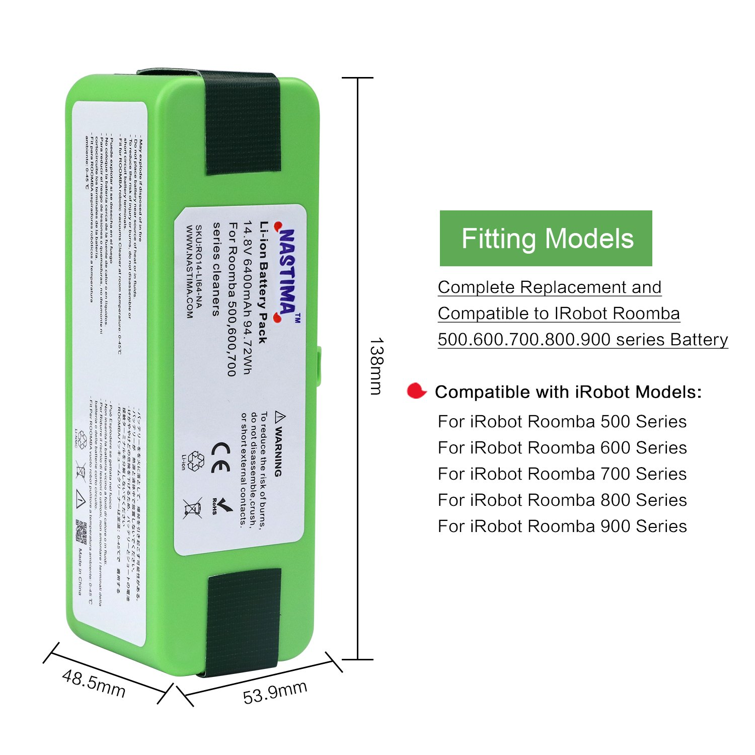 Circuito Not : Abc products® replacement irobot i robot rechargeable battery pack