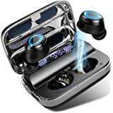 Donerton Wireless Earbuds, Bluetooth 5.0 Headphones 140 Hours Playtime Earphones with Charging Case, in Ear Headset IP7 Water