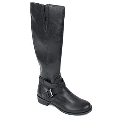 Amazon.com | Kenneth Cole Reaction Women's Gwen Riding Boots | Boots