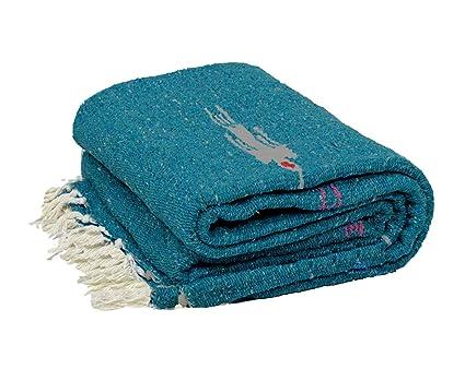 Amazon.com : Croazhi Yoga Blanket - Thick Mexican ...