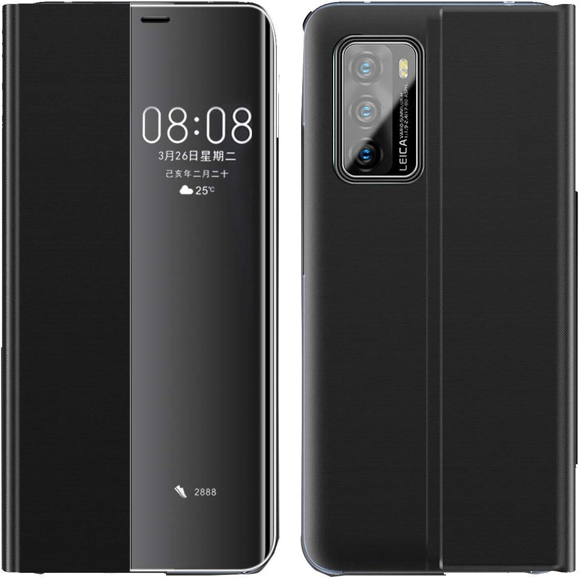 Aloug Huawei P40 Pro Case Mirror Smart View Flip Elektronik