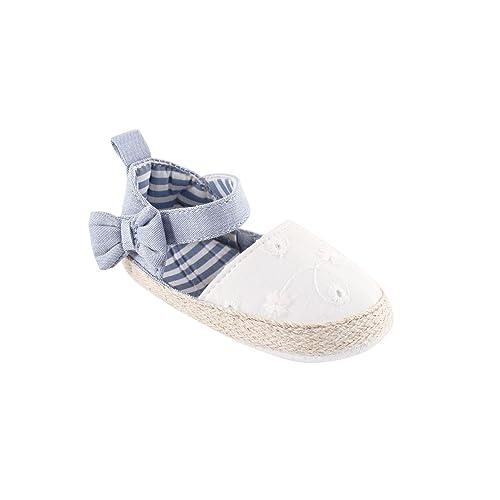 173b5d611 Luvable Friends Girl s Bow Espadrille Sandal