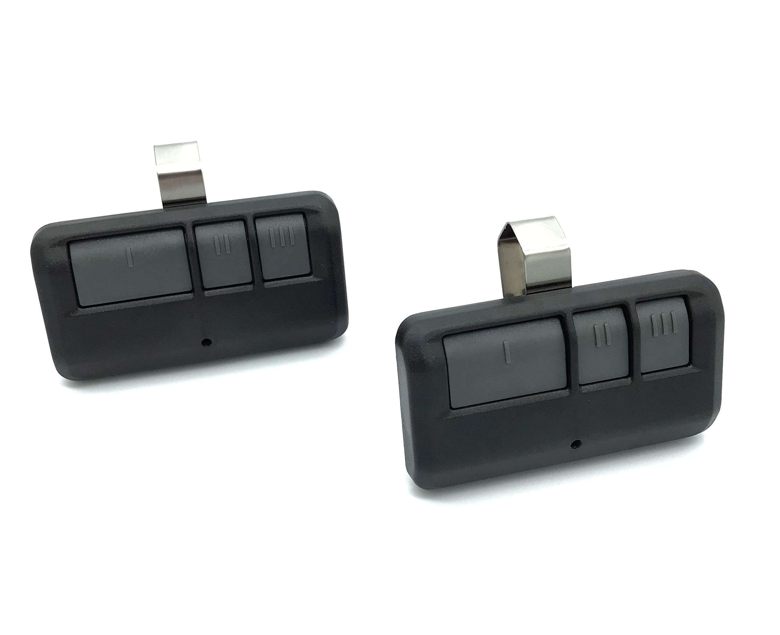 2 Pack for LiftMaster 893MAX Visor Style Garage Door Opener Remote Transmitter 81LM 371LM 373LM 891LM 893LM 971LM 973LM by Gate1Access