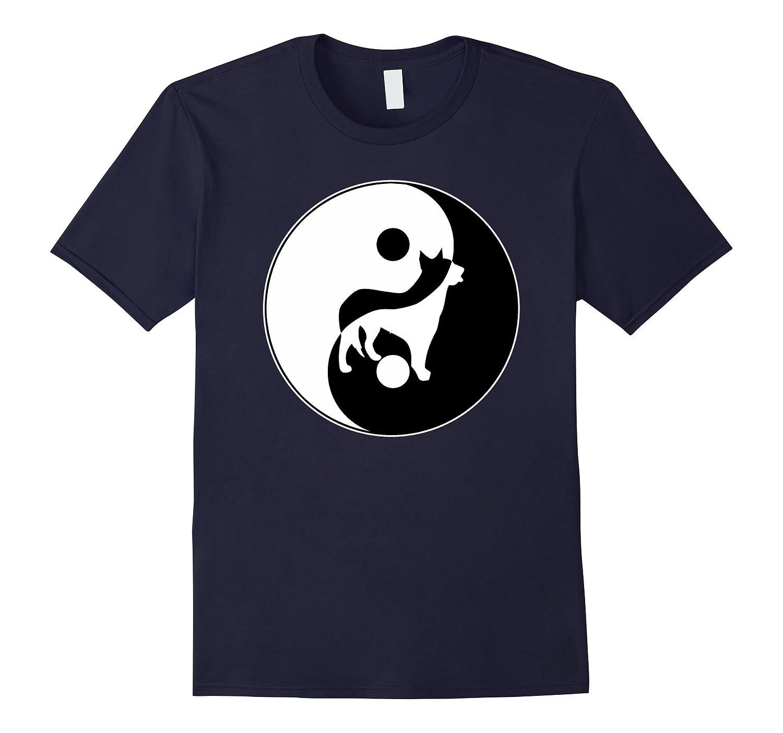 Yin Yang Australian Cattle Dog T-Shirt-CL