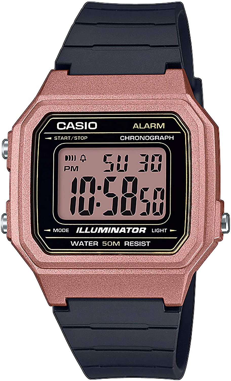Casio W-217HM - Reloj Digital de Cuarzo para Hombre con Pulsera de Resina