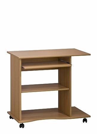 MAJA-Möbel 4024 5531 Computertisch, Buche-Nachbildung, Abmessungen ...