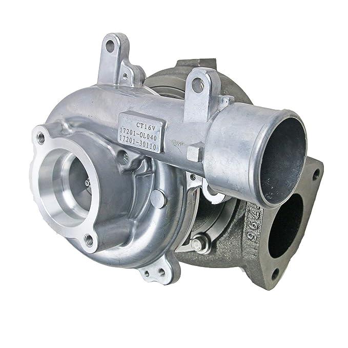 ct12 V/CT16 V Cargador de Turbo para Toyota Hilux Landcruiser Prado D4D 3.0 L 1 kd-ftv: Amazon.es: Coche y moto