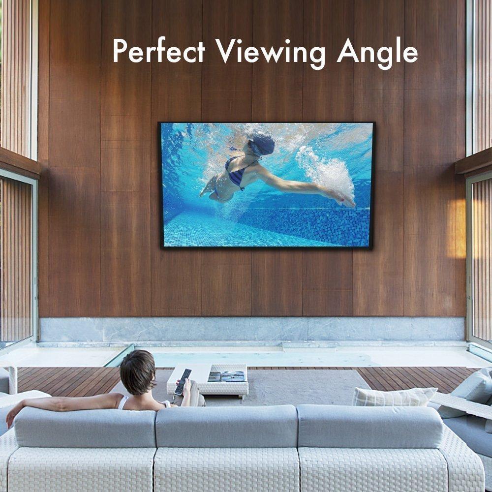 Perlegear TV Wandhalterung Schwenkbar Neigbar Für 23-55 Zoll TVs! Hält 30KG, mit Voll Beweglichem Gelenk-Arm! Passt LED, LCD, OLED, Plasma, Flachbild TVs, VESA 75x75mm-400x400mm, mit 3m HDMI Kabel (32-70 Zoll / Neigbar)