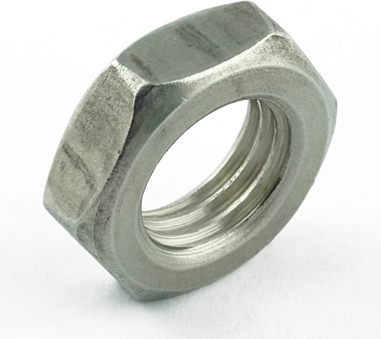 M10 Sechskantmuttern 100 St/ück Eisenwaren2000 rostfrei ISO 4035 - Mutter niedrige Form DIN 439 Edelstahl A2 V2A