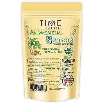 Organic Sensoril 11 Withanolides Optimized Ashwagandha Full