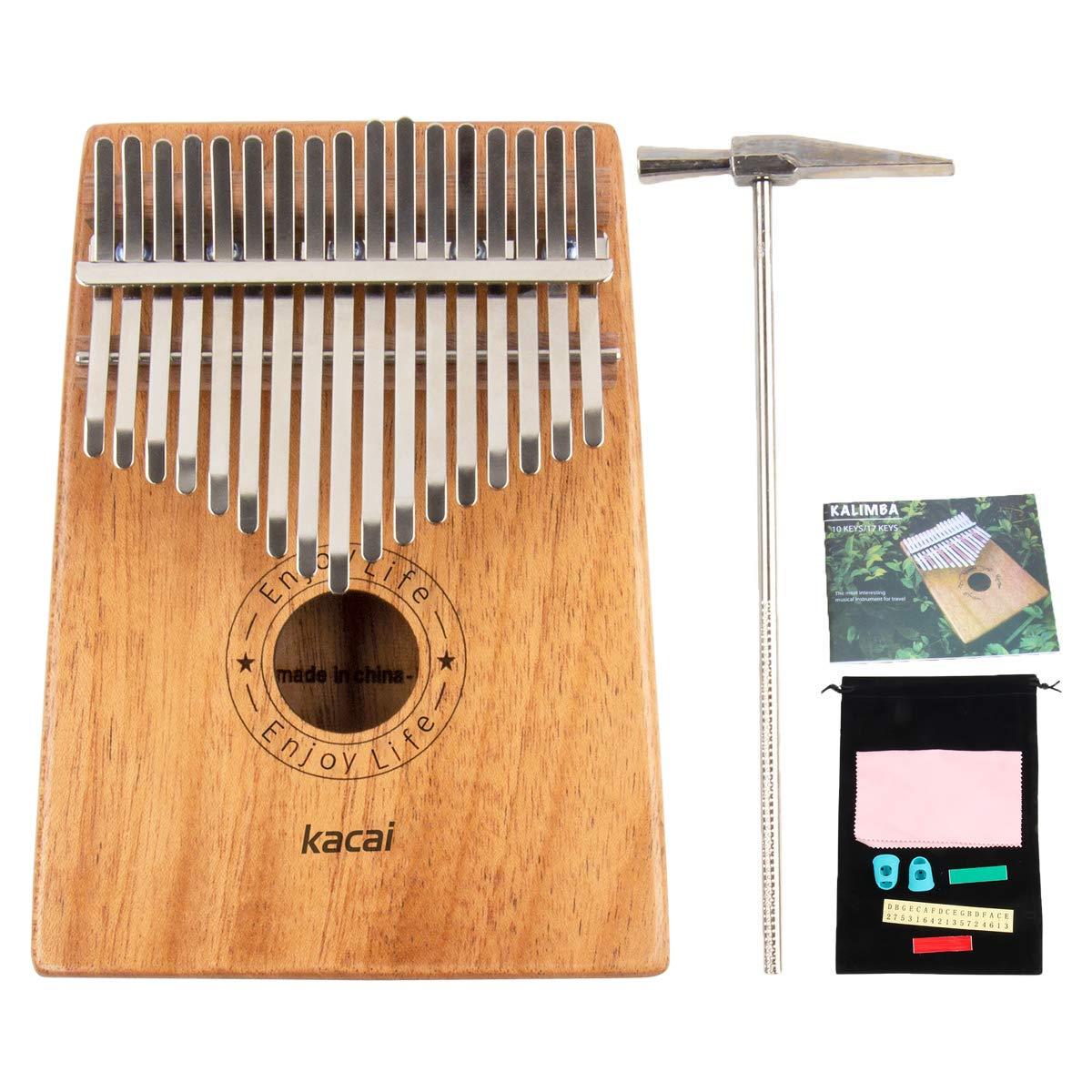 Lunji 10/fori chiave di C 20/Tone diatonica blues armonica a bocca con custodia per principianti Silver