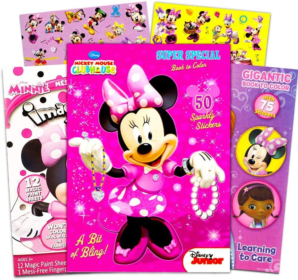 - Amazon.com: Disney Minnie Mouse Coloring Book Bundle -- 3 Pack