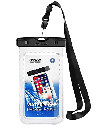 hot sale online e52cc eb303 iPhone 6/7/8 Waterproof case,Mpow Universal Dirtproof Shockproof Snowproof  Waterproof Pouch for Skiing, Skating, Snowshoeing, Camping,Sledding, ...