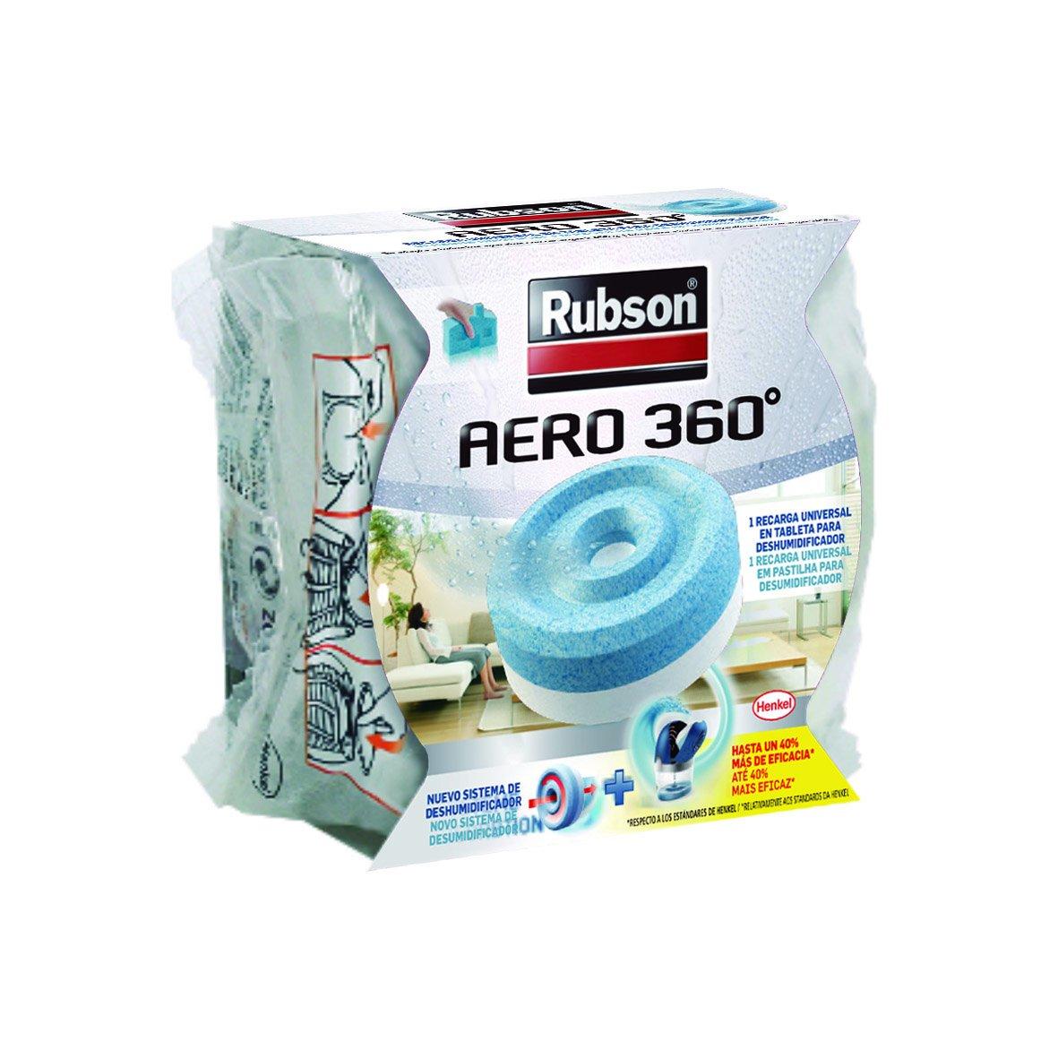 Rubson Recambio para deshumidificador Aero color azul claro y blanco