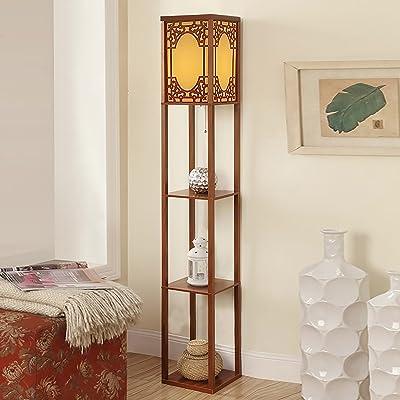 Étage Lampe Étagère Chevet Chambre Lumières Salon Étude Lampe Étagère Étagère Lampe de chevet (Couleur : # 2)
