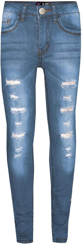 A2Z 4 Kids Kids Kids Boys Skinny Jeans Designers Denim Azzurro Leggero/_Pantaloni elasticizzati alla moda moda Slim Pantaloni New Age 3 4 5 6 7 8 9 10 11 12 13 anni