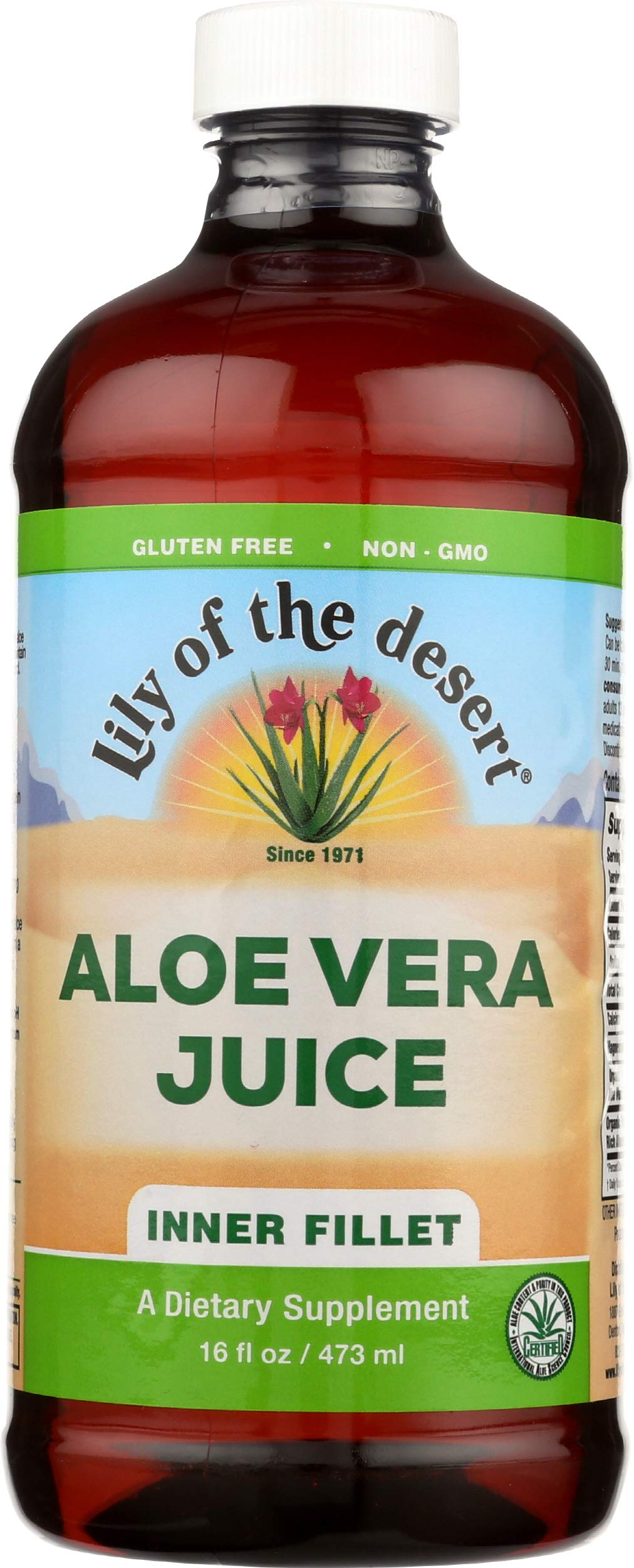Lily Of The Desert Aloe Vera Juice, 16 Fl Oz