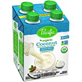 Pacific Foods Organic Unsweetened 4 Piece Coconut Beverage, 8 Ounce
