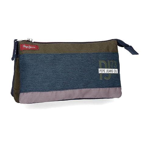 Pepe Jeans Trade Neceser de Viaje, 22 cm, 1.32 litros ...