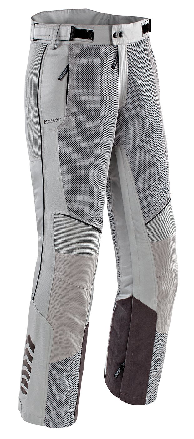 Joe Rocket Phoenix Ion Men's Mesh Motorcycle Pants (Silver, X-Large Short)