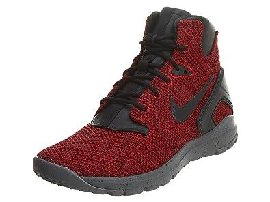 promo code d7823 cb1f8 Nike Mens Koth Ultra MID KJCRD Gym Red Black-Dark Grey Fabric Size 10