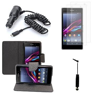Sony Xperia Z1 Z1, L39H, Honami C6902 C690 C6906 C6943: Funda de ...