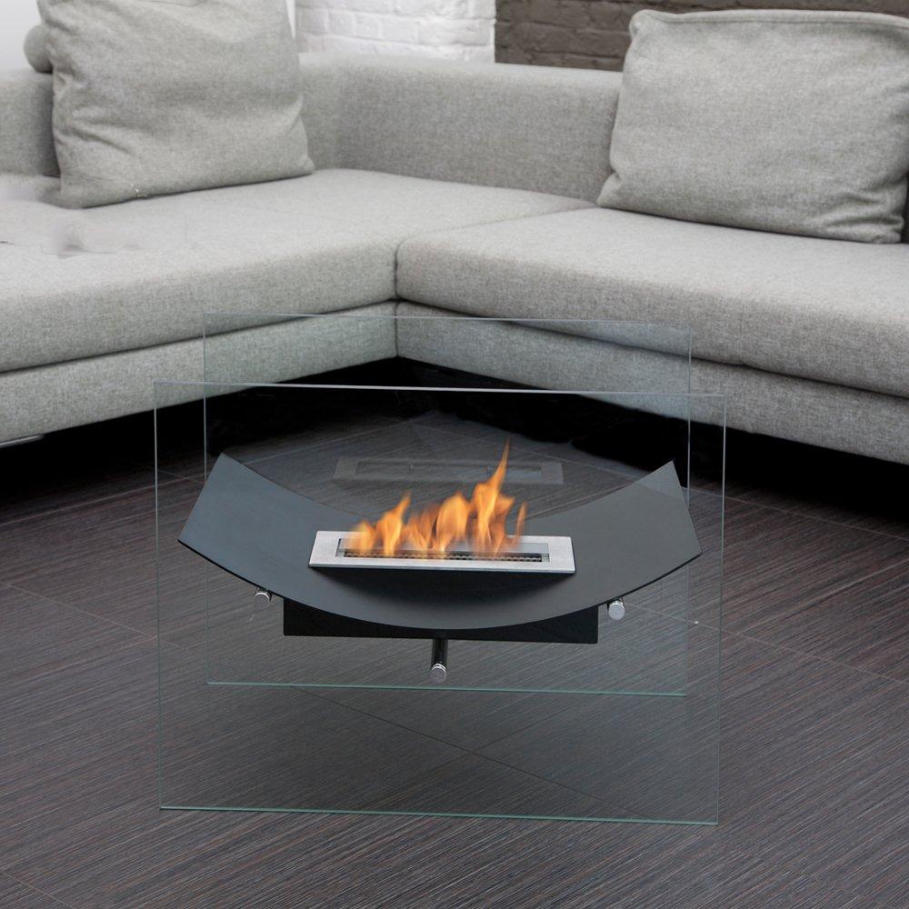 amazon com bio blaze veniz ethanol fuel fireplace black home