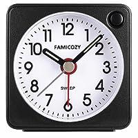 FAMICOZY Small Travel Clock 555