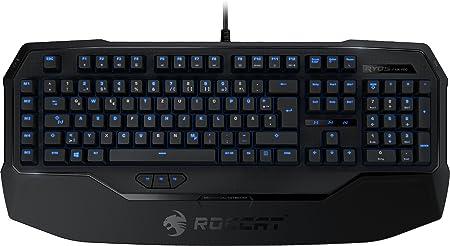 Roccat Ryos MK Pro - Teclado Gaming mecánico (ES Layout, Cherry MX Black Switches, iluminación Individual de Teclas), Negro