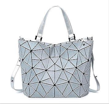 e284f3e7b AFCITY Mujeres Bolsos Mano Satchel Cartera Bolso de Hombro para Mujer Bolso  de Cubo geométrico Bolso