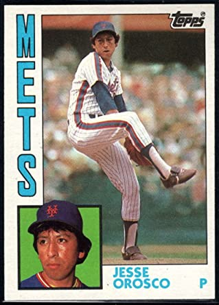 Amazon.com: 1984 Topps #54 Jesse Orosco NM-MT Mets: Collectibles ...