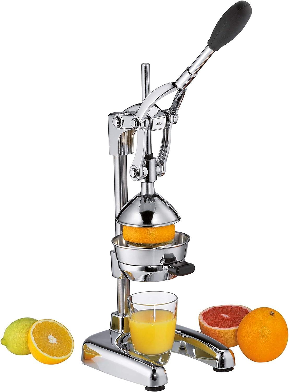Cilio 309232 Presse Fruits en Acier INOX, Inoxydable, Argent