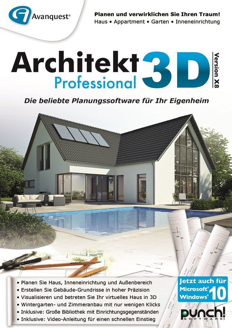Architekt 3D X8 Home [PC Download]: Amazon.de: Software