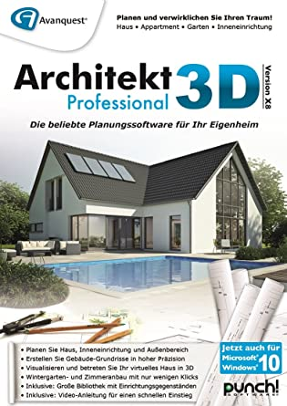 Good Architekt 3D X8 Professional [PC Download]