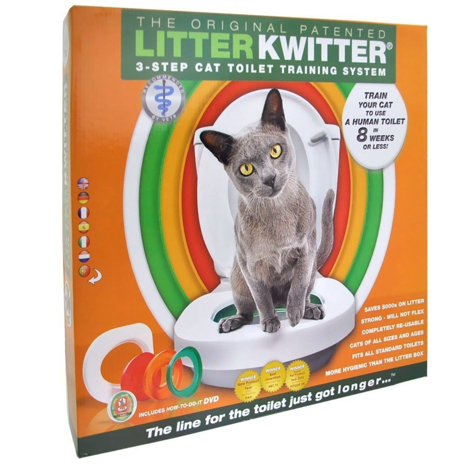Litter Kwitter Cat Toilet Training System by Litter Kwitter