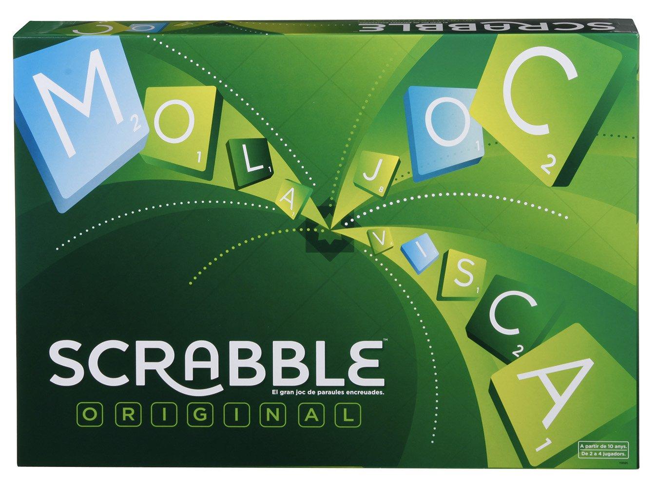 Mattel Games - Juego de mesa Scrabble original catalá (Mattel Y9595): Amazon.es: Juguetes y juegos