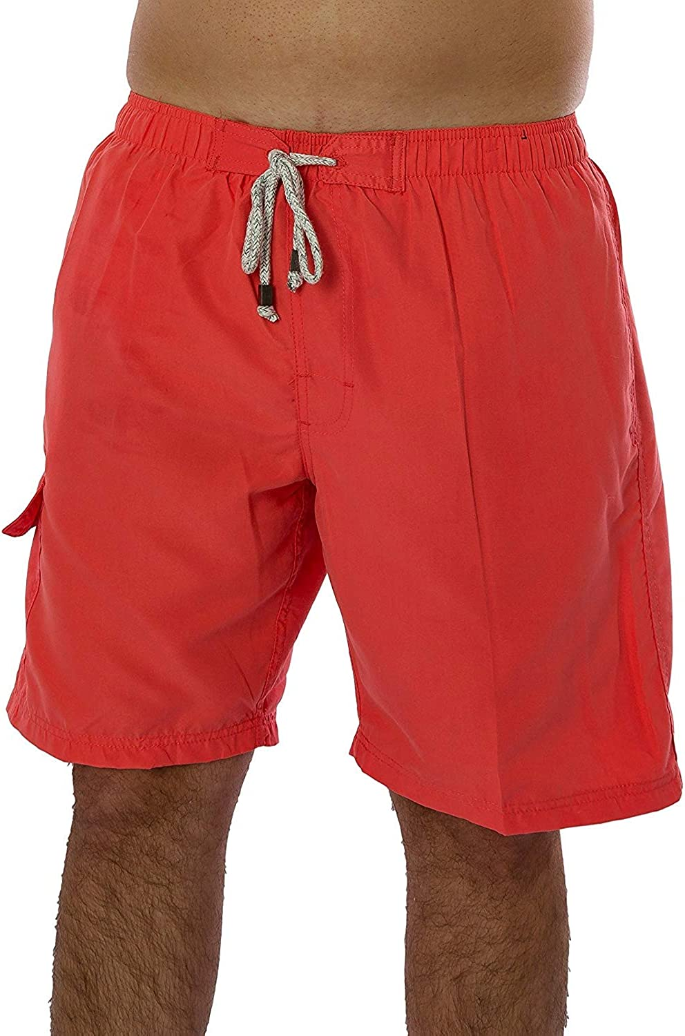 Hateone Mens Beach Shorts Quick Dry Snake Close Up Summer Holiday Mesh Lining Swimwear Board Shorts with Pockets