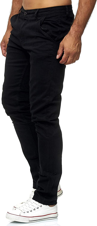 Elara Chino Pantaloni Uomo Taglio Slim Regolare Stile Chunkyrayan